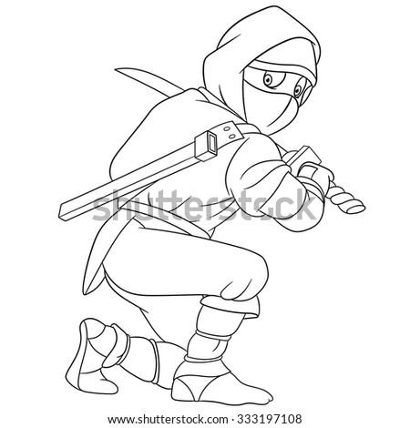 dangerous and martial ninja is