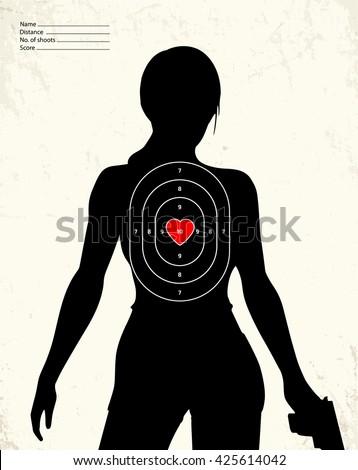 dangerous armed woman