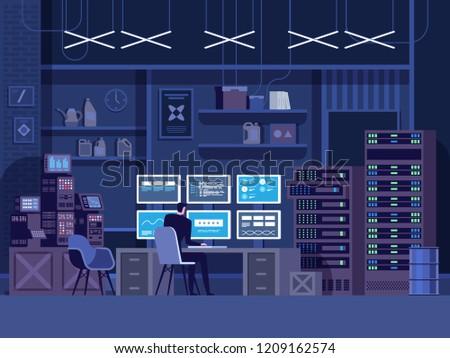 dangerous hacker breaks into