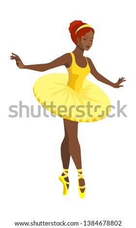 dansing female ballet dancer in