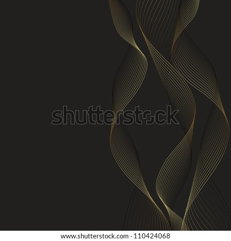 Dark abstract background. Vector Image for design
