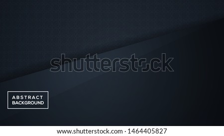 Dark abstract background with black overlap layers. Modern Background Design. modern vector design, modern template design. vector illustration .
