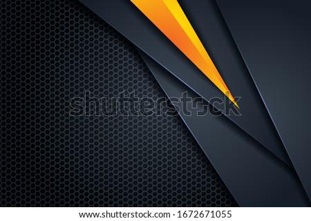 dark abstract triangle