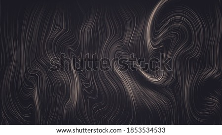 dark background with wavy and