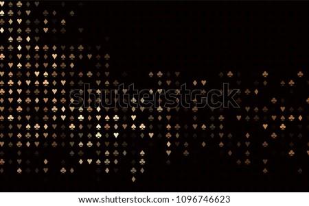 dark black vector background
