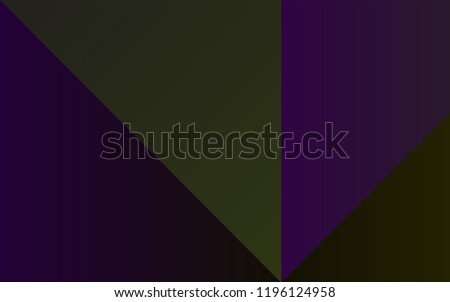 Dark Black vector cover with colorful palette. Colorful gradient set with collection of rainbow colors. Template of colors for smart designers.