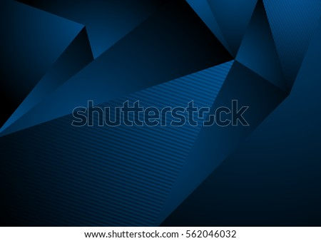 dark blue abstract concept