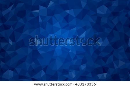 dark blue abstract mosaic