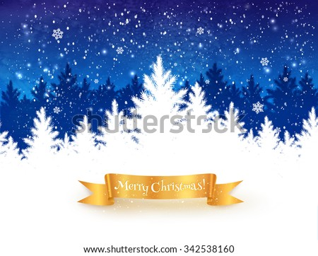 dark blue and white christmas