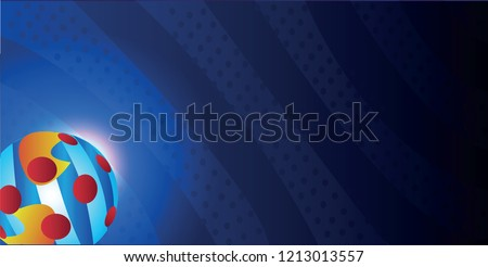 dark blue background  bright