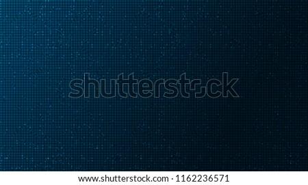 dark blue circuit microchip