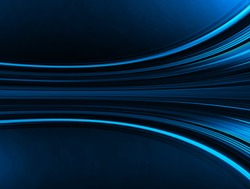 Dark blue color Light Abstract Technology background for computer graphic website internet and business. move motion blur. curve