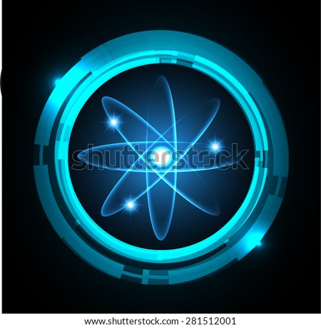 dark blue color light abstract