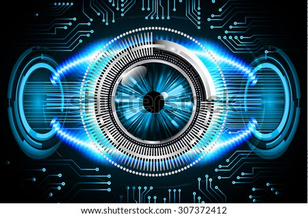 dark blue color Light Abstract Technology background for computer graphic website internet and business.circuit. vector illustration. abstract digital. infographics. motion move blur.neon. eye