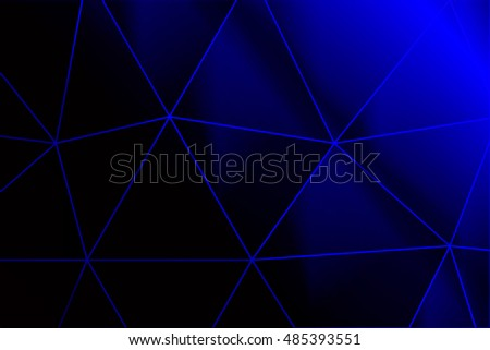 dark blue gradient polygonal