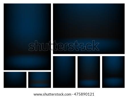 dark blue gradients for