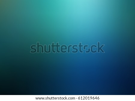 Dark Blue, Green vector blurred shine illustration. Brand-new pattern for your business design. Colorful background in abstract style with gradient.