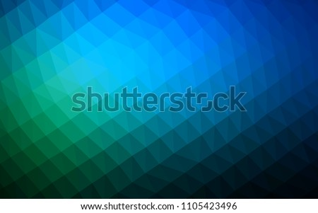 dark blue  green vector low