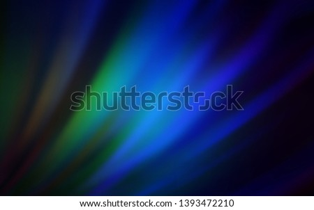 Dark Blue, Green vector modern elegant backdrop. An elegant bright illustration with gradient. Background for a cell phone.