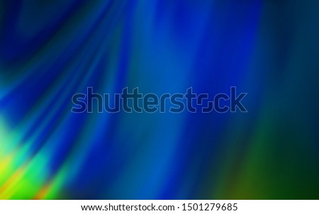 Dark Blue, Green vector modern elegant background. An elegant bright illustration with gradient. New design for your business.