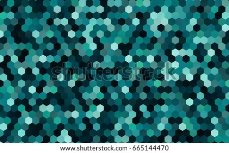 dark blue  green vector modern