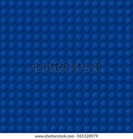 dark blue plastic construction