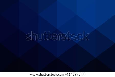 dark blue polygonal