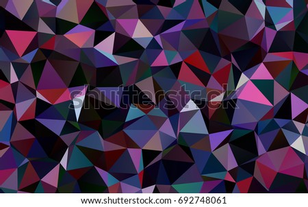dark blue  red vector abstract