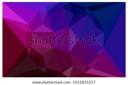 dark blue  red vector diamond