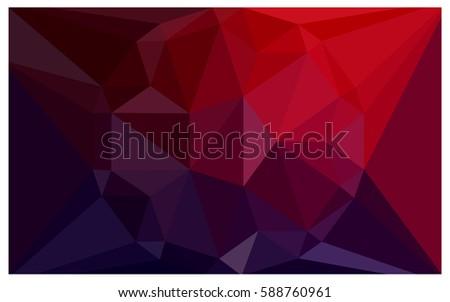 dark blue  red vector diamond