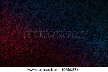 Dark Blue Red Vector Of Small Triangles On White Background Illustration Abstract Texture