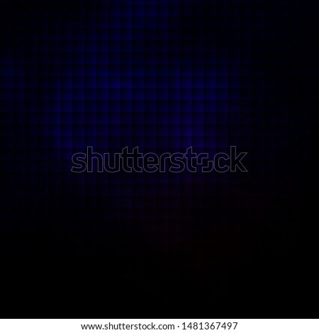 Dark Blue, Red vector template with rectangles. New abstract illustration with rectangular shapes. Pattern for commercials, ads.