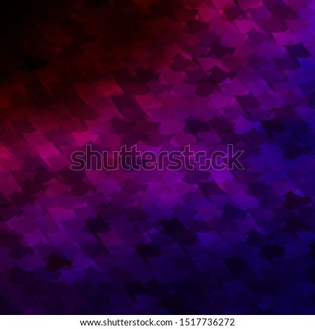 Dark Blue, Red vector texture in rectangular style. Rectangles with colorful gradient on abstract background. Pattern for commercials, ads.