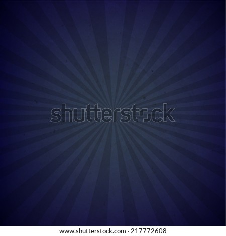 dark blue sunburst cardboard