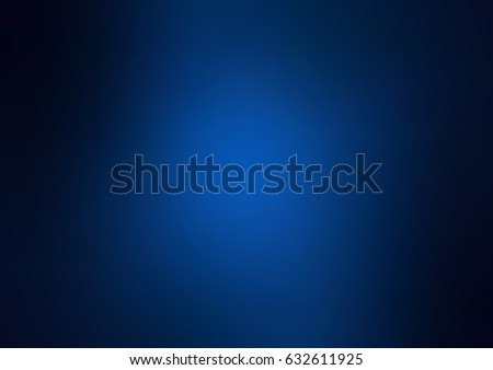 Stock Photo Dark blue vector abstract blurred pattern. Colorful abstract illustration with gradient. The template can be used as a background of a cell phone.