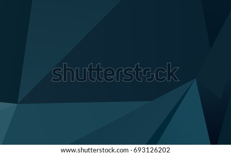 dark blue vector abstract