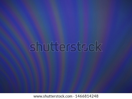 Dark BLUE vector blurred and colored background. Glitter abstract illustration with an elegant design. The elegant pattern for brand book.