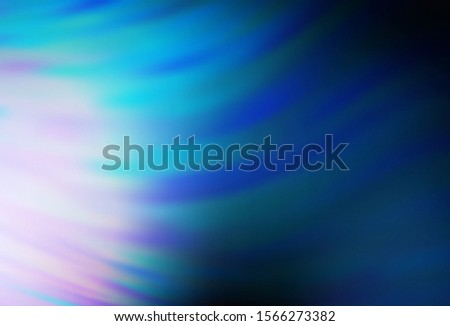 Dark BLUE vector blurred shine abstract background. Shining colored illustration in smart style. Smart design for your work.