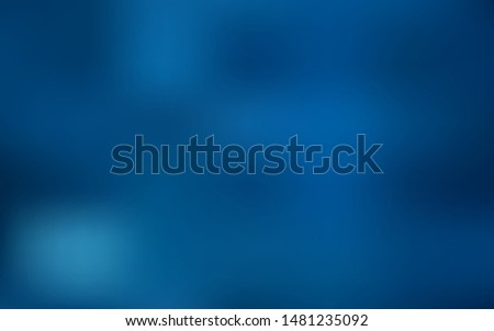 Dark BLUE vector blurred shine abstract texture. Shining colored illustration in smart style. Elegant background for a brand book.