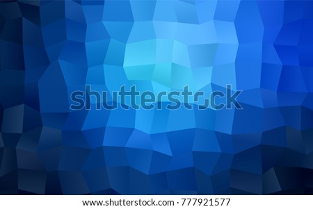 dark blue vector blurry