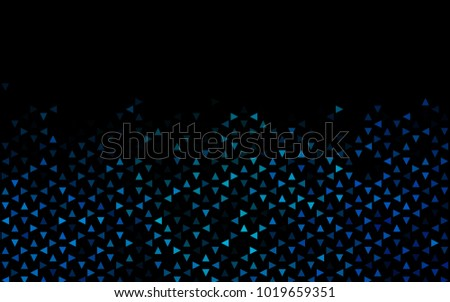 dark blue vector geometric