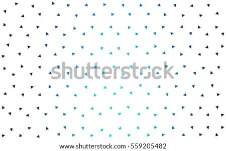 dark blue vector geometric