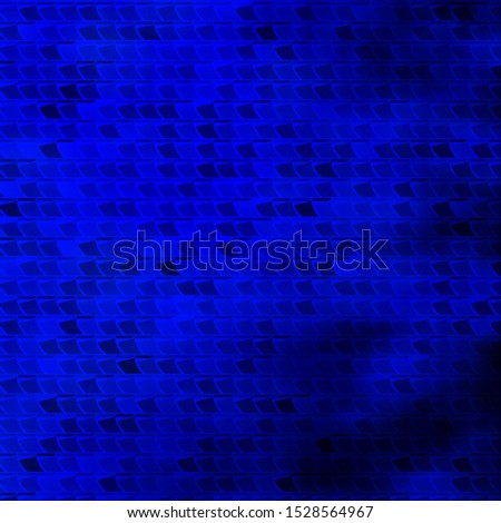 Dark BLUE vector layout with lines, rectangles. New abstract illustration with rectangular shapes. Pattern for commercials, ads.
