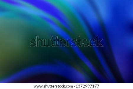 Dark BLUE vector modern elegant backdrop. An elegant bright illustration with gradient. Blurred design for your web site.