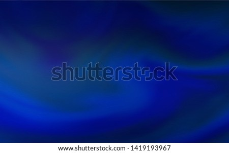 Dark BLUE vector modern elegant backdrop. An elegant bright illustration with gradient. New way of your design.