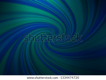 Dark BLUE vector modern elegant background. An elegant bright illustration with gradient. The template for backgrounds of cell phones.