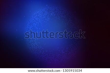 Dark BLUE vector modern elegant background. An elegant bright illustration with gradient. The best blurred design for your business.