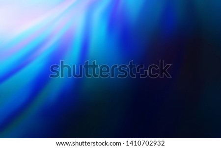 Dark BLUE vector modern elegant layout. An elegant bright illustration with gradient. New style for your business design.