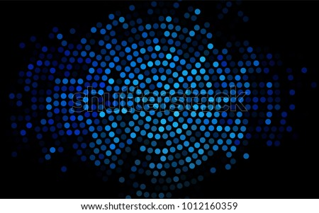 stock-vector-dark-blue-vector-modern-geometrical-circle-abstract-background-dotted-texture-template-geometric