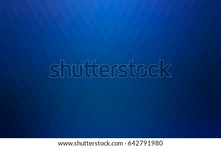 dark blue vector polygonal